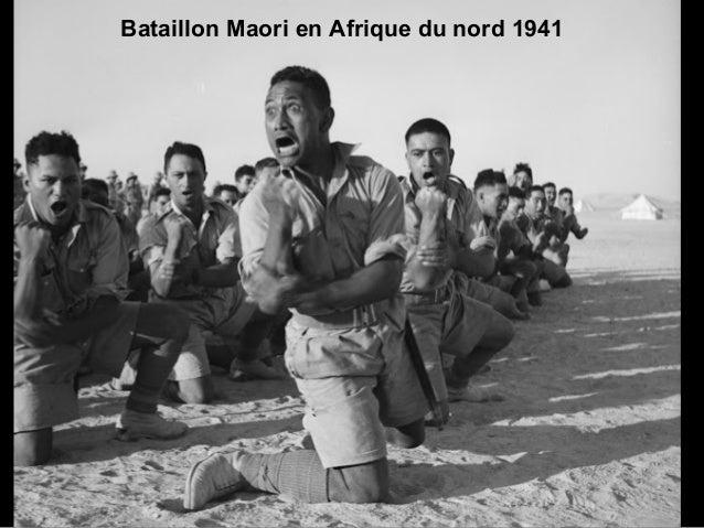 Bataillon Maori en Afrique du nord 1941