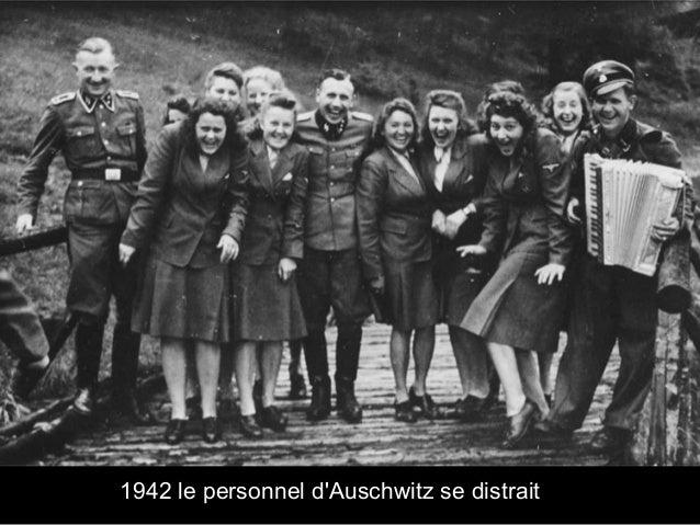 1942 le personnel d'Auschwitz se distrait