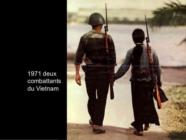 1971 deux combattants du Vietnam