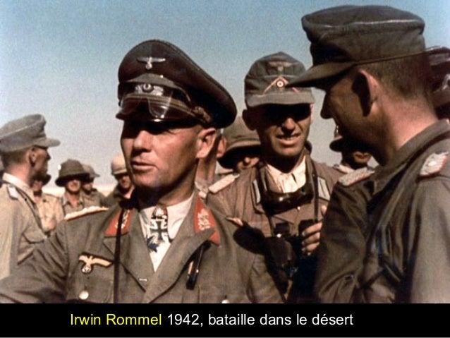 Irwin Rommel 1942, bataille dans le désert