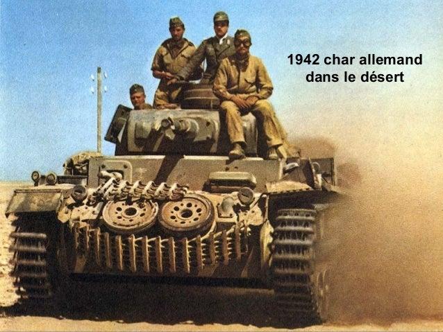 1942 char allemand dans le désert