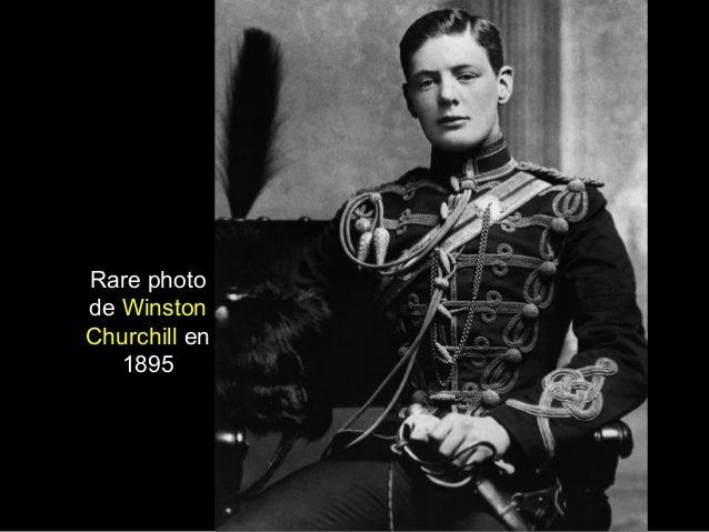 Rare photo de Winston Churchill en 1895