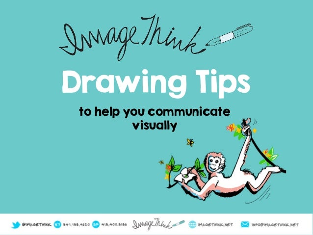 Drawing Tips to help you communicate visually