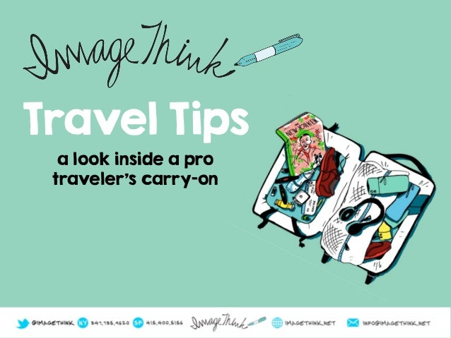 Travel Tips a look inside a pro traveler's carry-on
