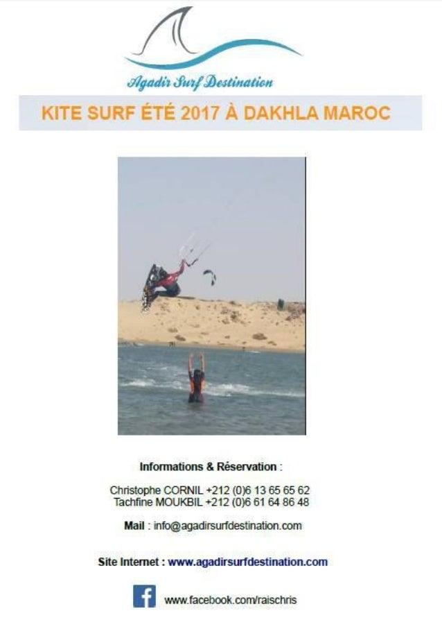 Présentation de l'école de kitesurf