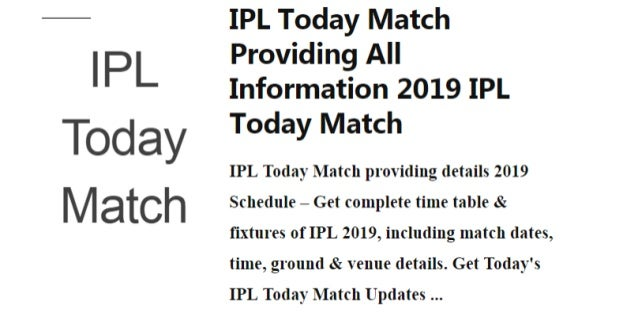 Match time today sure win