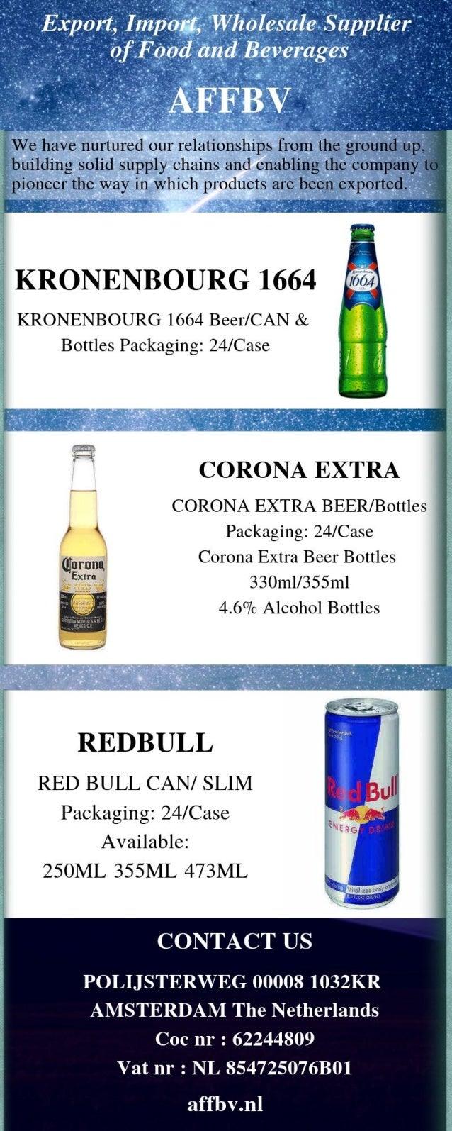 AFFBV - Wholesale Suppliers of Food & Beverages