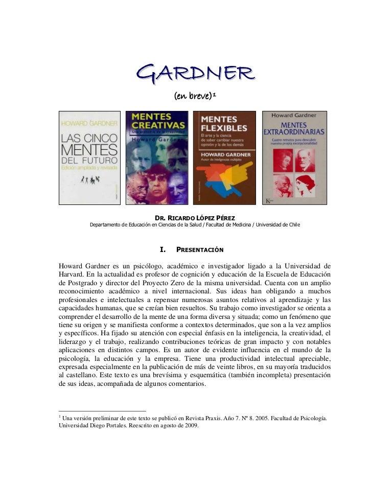 GARDNER                                                 (en breve) 1                                         DR. RICARDO L...