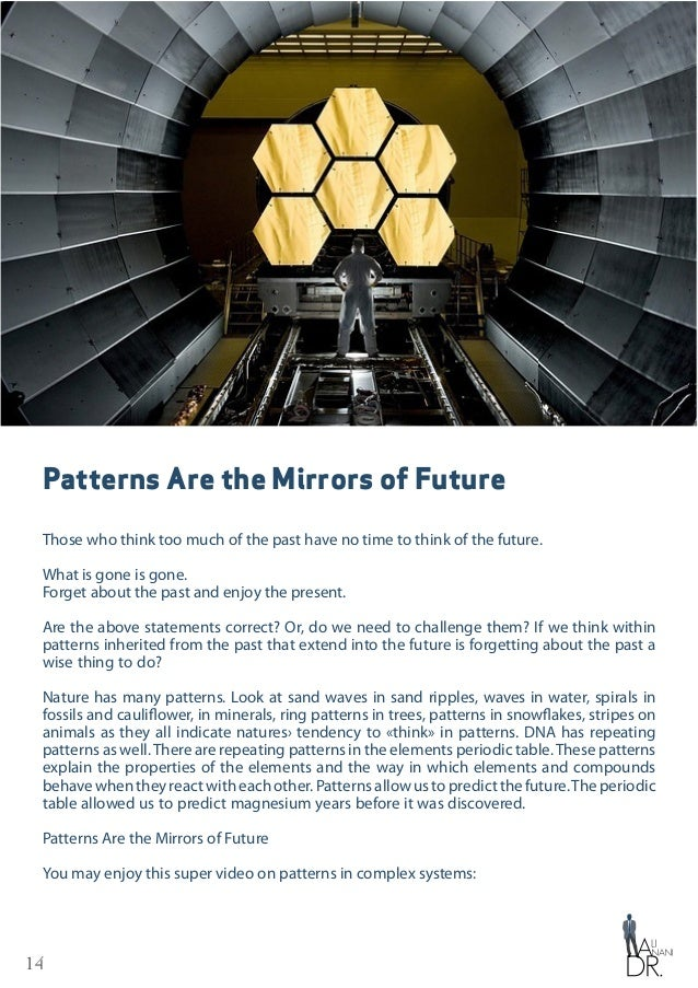 15 Patterns Are the Mirrors of Future The mystery of repeating stripe patterns on some animals such as giraffe has been re...