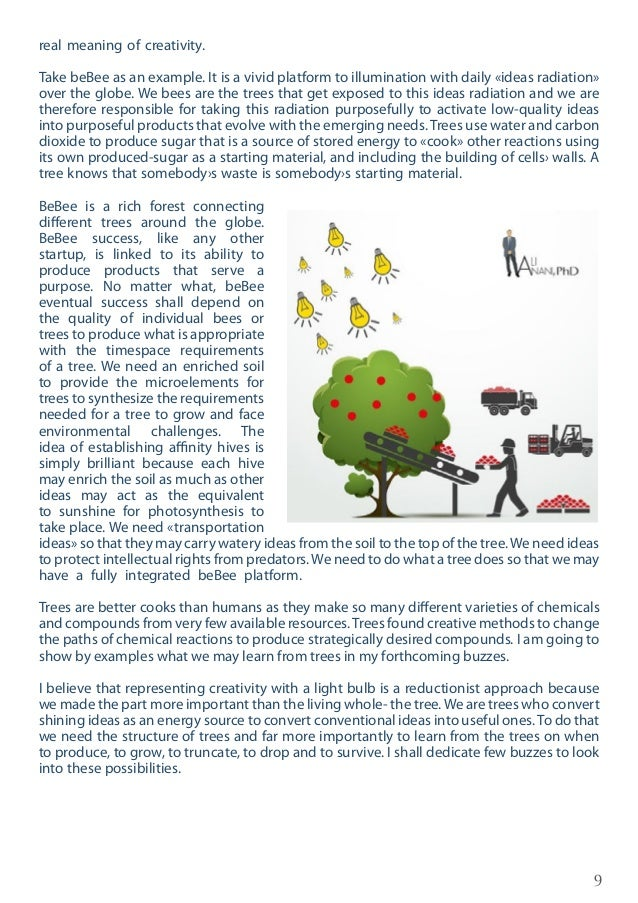 10 Simple, but Creative Among the many things trees teach us is their ability to do complex reactions and functions with g...
