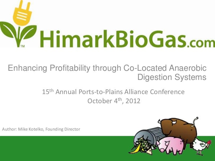 Enhancing Profitability through Co-Located Anaerobic                                     Digestion Systems                ...