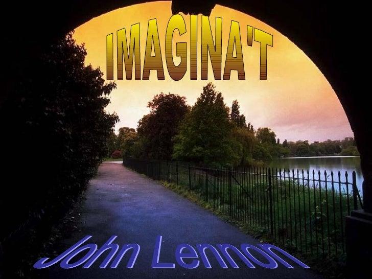 IMAGINA'T John Lennon
