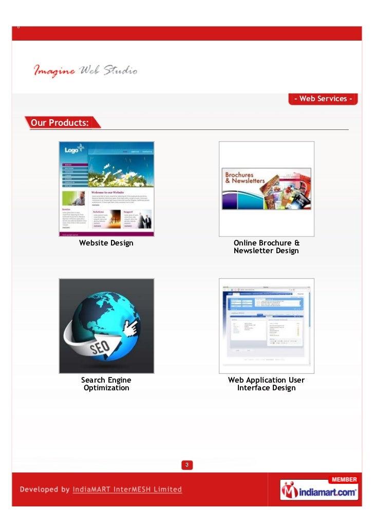 Imagine Web Studio, Pune, Pune, Online Brochure & Newsletter Design  Slide 3
