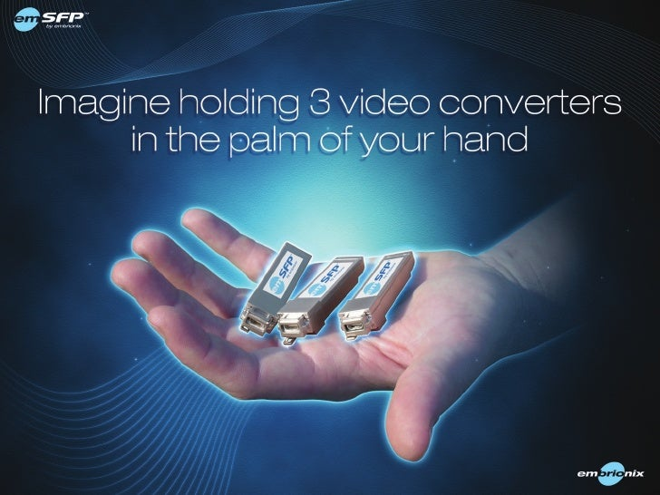 Imagine Holding 3 HDMI/DVI Converters in your hands
