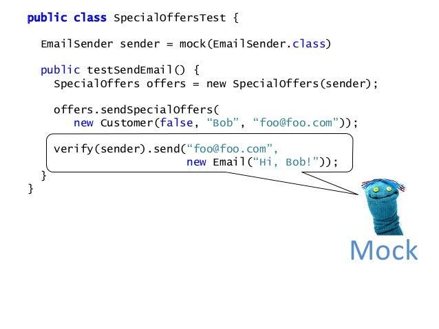 public interface SendEmailIntent { String getAddress(); Email getEmail(); } public interface Interpreter { void interpret(...