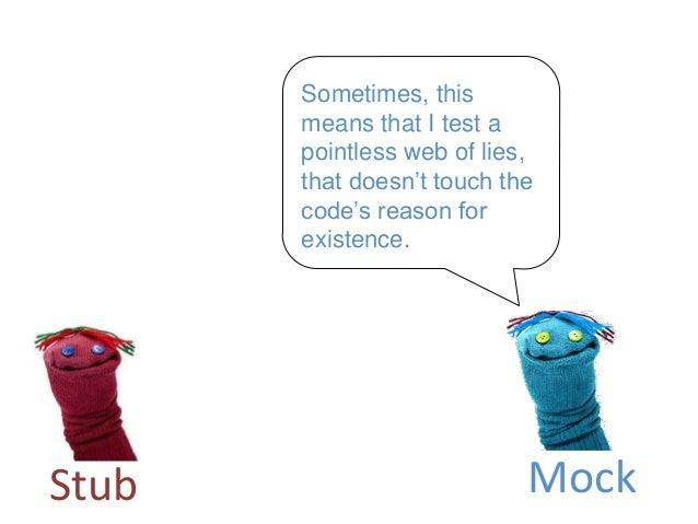 Imagine a world without mocks