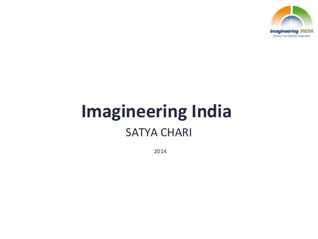 Imagineering  India   SATYA  CHARI   2014