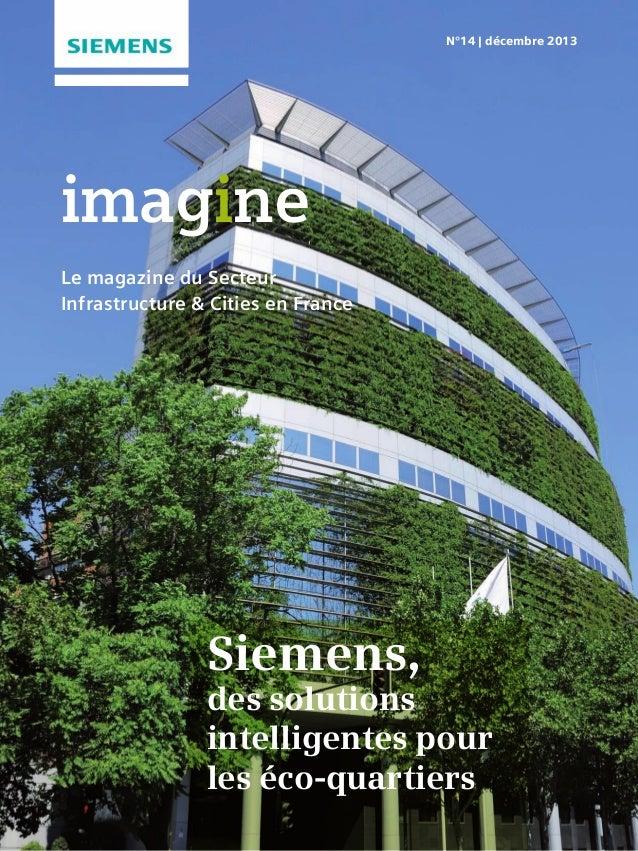 Imagine_déc2013_Le magazine du Secteur Infrastructure & Cities en France