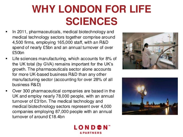 Imagine your life sciences business in London Slide 2