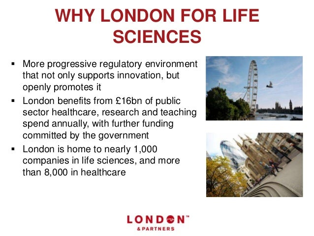 Imagine your life sciences business in London Slide 3