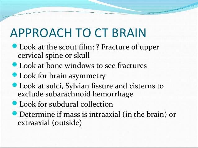 Imaging In Head Trauma