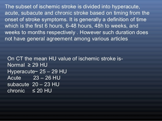 subacute stroke time frame | lajulak.org