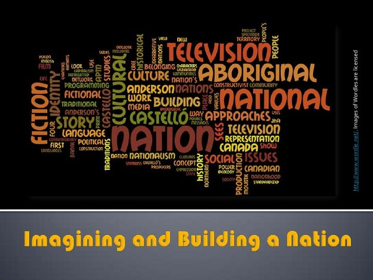 http://www.wordle.net/. Images of Wordles are licensed<br />Imagining and Building a Nation<br />