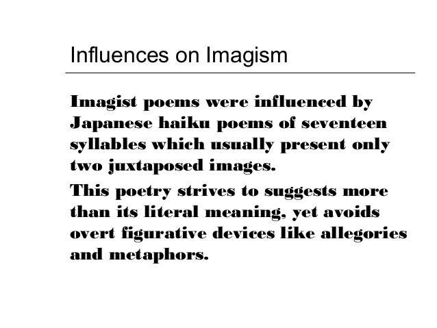 Imagism overview