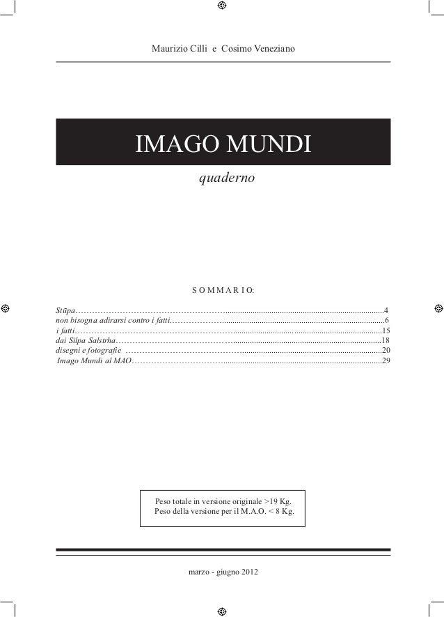 Maurizio Cilli e Cosimo Veneziano                            IMAGO MUNDI                                                  ...