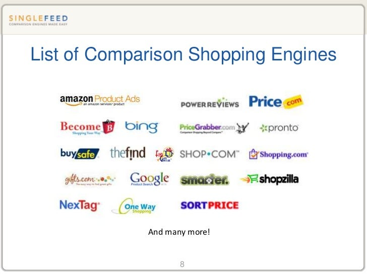 Comparison Search Engines 101: Getting Your Products Found