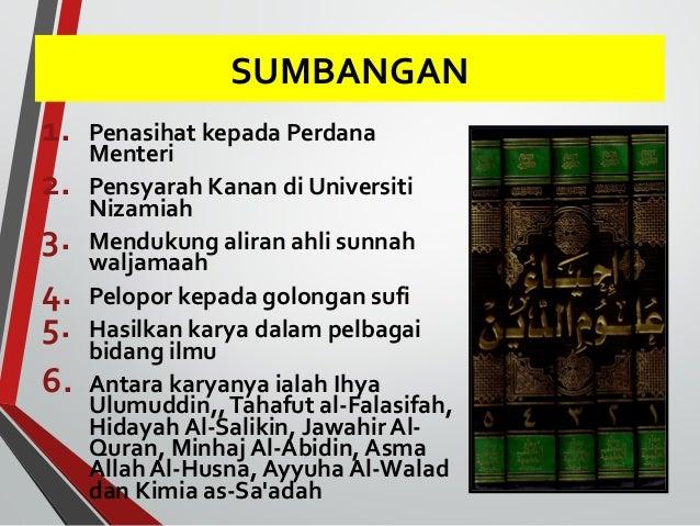 FALSAFAH PEMIKIRAN  • Al-Ghazali menilai ilmu agama pada masa  itu telah dianggap mati.  • Hilang atau matinya ilmu agama ...