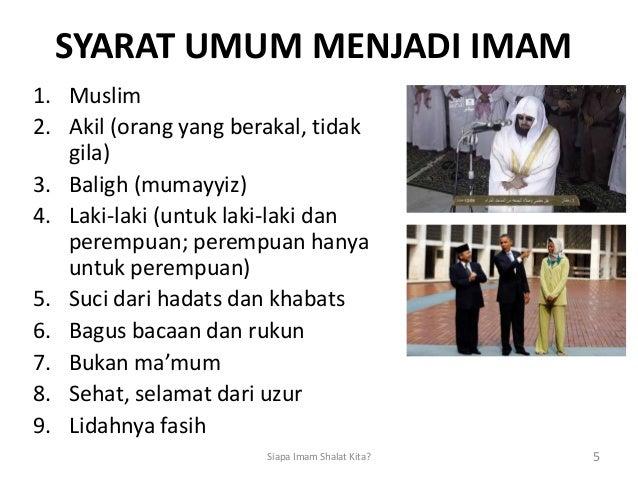 Cara Menentukan Imam Sholat Jama'ah