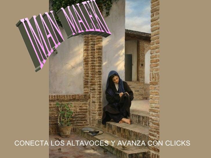 IMAN  MALEKI CONECTA LOS ALTAVOCES Y AVANZA CON CLICKS