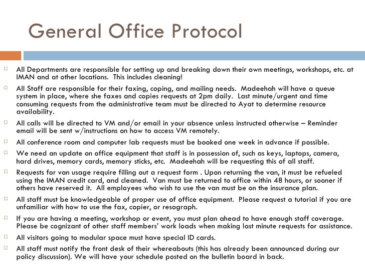 Iman Office Amp Security Protocol