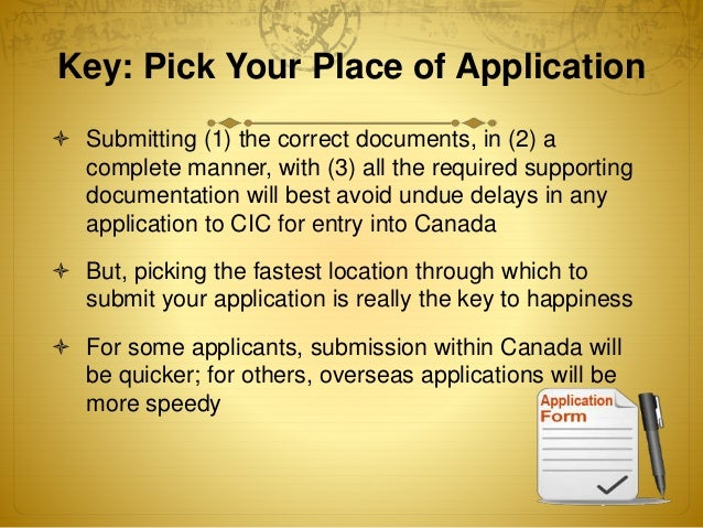 application for visitor visa made within canada