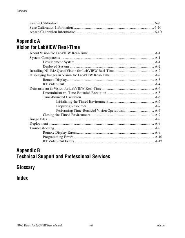 imaq manual rh slideshare net ni vision user manual Owner's Manual