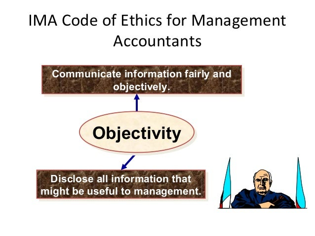 management accountant and ethical behaviour A question of ethics   ethical behaviour can be promoted,  ethical dilemmas arise when the accountant has to consider two or more seemingly incompatible.