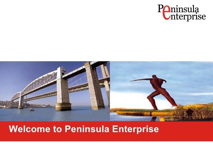 Welcome to Peninsula Enterprise