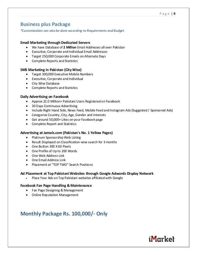 iMarket Pakistan Profile
