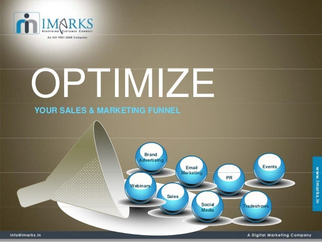 OPTIMIZEYOUR SALES & MARKETING FUNNEL                        Brand                      Advertising                       ...