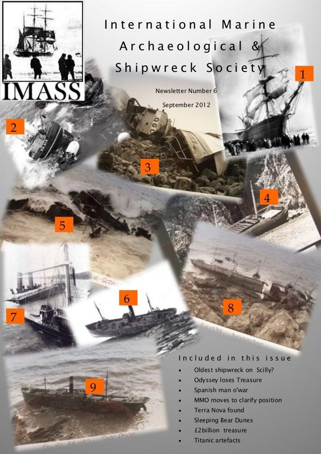International Marine             Archaeological &             Shipwreck Society                                           ...