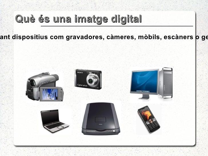 Imatge Digital Tipus Slide 3