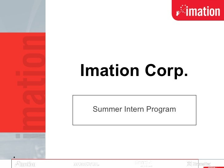 Imation Corp. Summer Intern Program