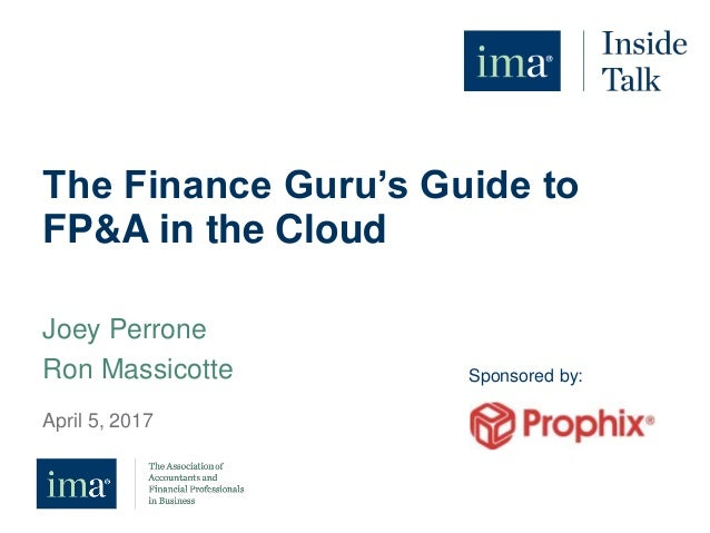 the finance guru's guide to fp&a in the cloud