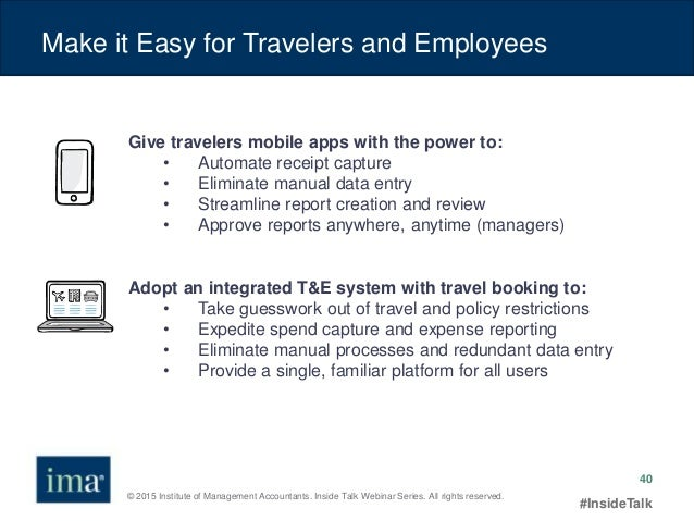 travel expense management 2015 strategies to control t e spending