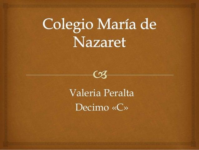 Valeria Peralta Decimo «C»