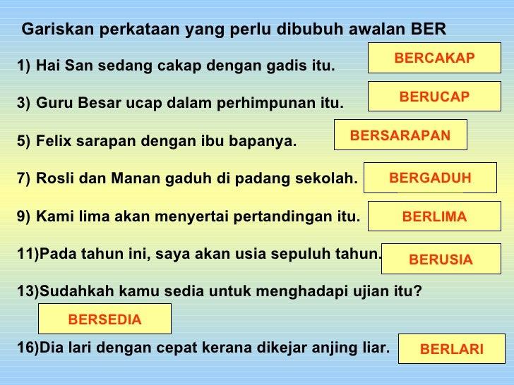 Imbuhan Ber