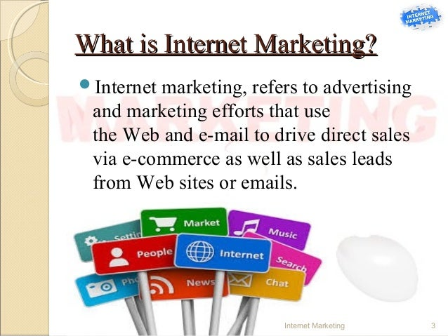 Small ppt on internet marketing