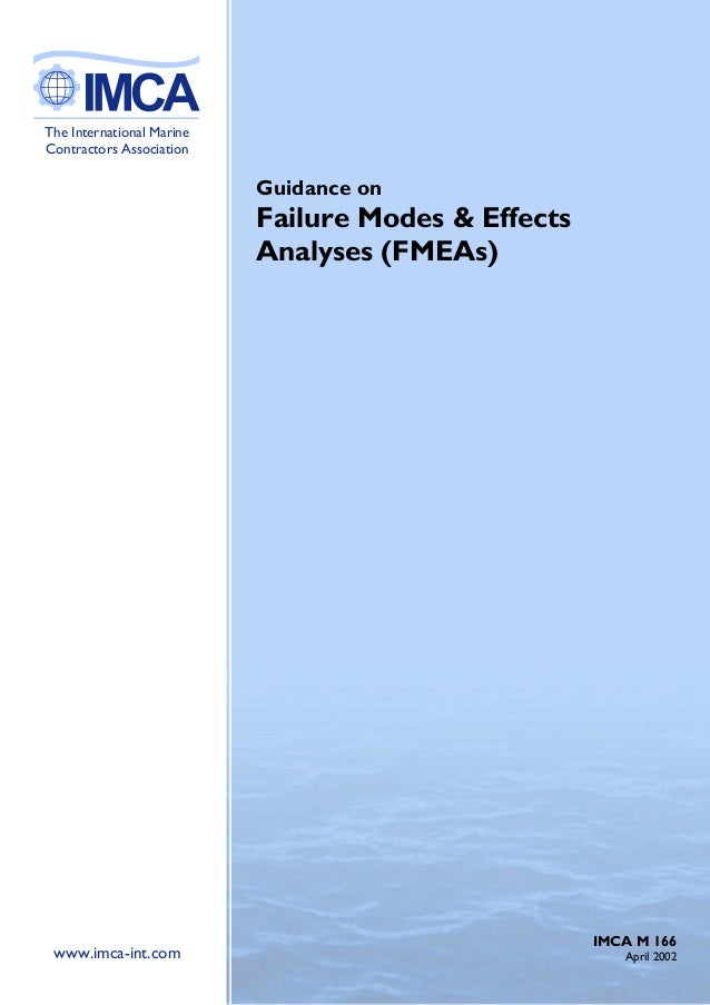 ABThe International MarineContractors Association                           Guidance on                           Failure ...