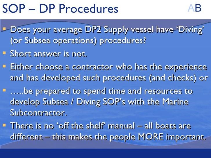 Diving Safety Program